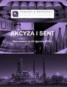 Akcyza i SENT 2019.