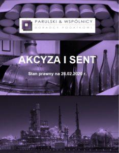 Akcyza i SENT 2020.